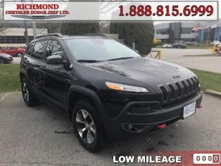 Used 2018 Jeep Cherokee Trailhawk for sale in Richmond, BC