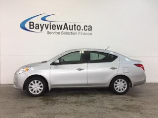Used 2012 Nissan Versa - 1.6L|KEYLESS ENTRY|A/C|PWR GROUP|LOW KM! for sale in Belleville, ON