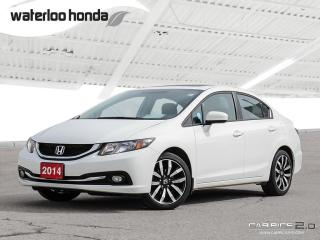 Used 2014 Honda Civic Touring Bluetooth, Back Up Camera, Navigation, and More! for sale in Waterloo, ON