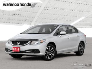 Used 2014 Honda Civic EX Bluetooth, Back Up Camera, Heated Seats and more! for sale in Waterloo, ON