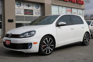 Used 2013 Volkswagen Golf GTI 5-Door Leather, Sunroof, 6 SPEED for sale in North York, ON