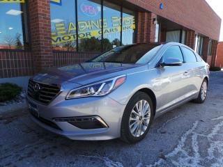 Used 2015 Hyundai Sonata Limited Navigation, Driver Assist Package for sale in Woodbridge, ON
