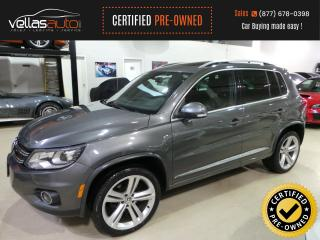 Used 2014 Volkswagen Tiguan 2.0TSI  R-LINE  4MOTION  19ALLOYS  PANO RF for sale in Vaughan, ON