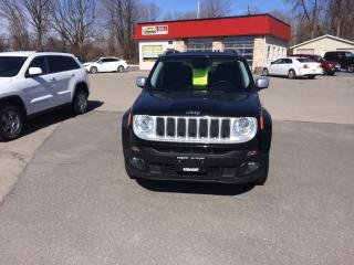 Used 2017 Jeep Renegade Limited for sale in Morrisburg, ON