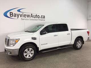 Used 2017 Nissan Titan SV - CREW|ALLOYS|A/C|BLUETOOTH|CRUISE! for sale in Belleville, ON