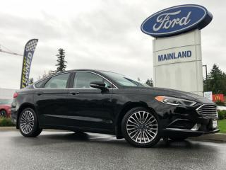 Used 2018 Ford Fusion LOCAL BC, 2.0L ECOBOOST, NAV, MOONROOF, HEATED SEATS, REVERSE SENSING SYSTEM, LOW KM for sale in Surrey, BC