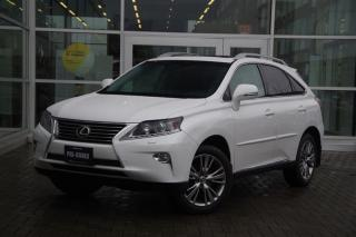 Used 2013 Lexus RX 350 6A Low Kms! Navi! for sale in Vancouver, BC