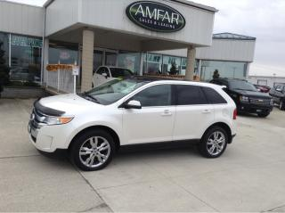Used 2012 Ford Edge Limited for sale in Tilbury, ON