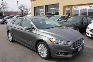 Used 2014 Ford Fusion SE Hybrid Leather Sunroof for sale in Brampton, ON