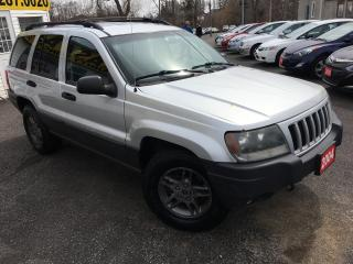 Used 2004 Jeep Grand Cherokee Laredo/AUTO/4WD/ALLOYS/LOW KMS! for sale in Scarborough, ON