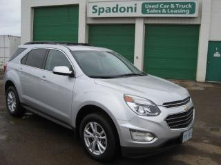 Used 2017 Chevrolet Equinox LT for sale in Thunder Bay, ON