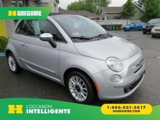 Used 2012 Fiat 500 C LOUNGE MAN A/C MAGS for sale in St-Léonard, QC