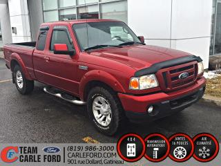 Used 2011 Ford Ranger Ford Ranger Sport 2011 4x4, Air climatis for sale in Gatineau, QC