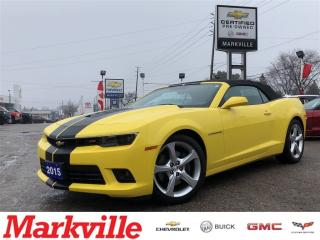 Used 2015 Chevrolet Camaro 2SS-CONVERTIBLE-NAVI-LEATHER-1 OWNER-MINT!!! for sale in Markham, ON