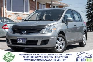 Used 2011 Nissan Versa 1.8S AUTO + ALLOYS CERTIFIED for sale in Caledon, ON