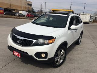 Used 2013 Kia Sorento EX, AWD, Leather, Glass Roof, warranty avail for sale in North York, ON
