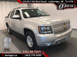 Used 2011 Chevrolet Avalanche 1500 LT 4WD, LEATHER, BLUETOOTH REMOTE START, for sale in Lethbridge, AB