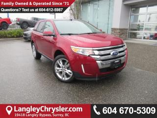 Used 2013 Ford Edge Limited <b>*AWD*ONE OWNER*TOUCHSCREEN MEDIA*<b> for sale in Surrey, BC