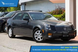 Used 2005 Cadillac CTS Luxury Heated Seats, Leather, Sunroof for sale in Port Coquitlam, BC