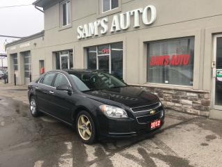 Used 2012 Chevrolet Malibu LT PLATINUM EDITION for sale in Hamilton, ON