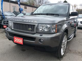 Used 2008 Land Rover Range Rover Sport Sport/Navi/Bluetooth/Leather/Sunroof for sale in Scarborough, ON
