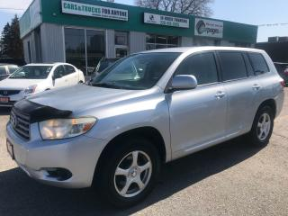Used 2008 Toyota Highlander Navi l 7 Passenger l AWD for sale in Waterloo, ON