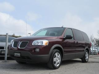 Used 2008 Pontiac Montana SV6 EXT. / LOCAL ONTARIO CAR/ SERVICE HISTORY for sale in Newmarket, ON