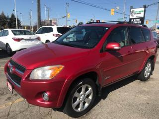 Used 2009 Toyota RAV4 Limited l AWD l Leather l Heated Seats for sale in Waterloo, ON