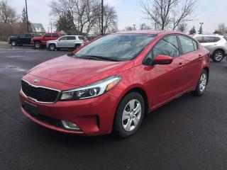 Used 2017 Kia FORTE BACKUP CAMERA * HEATED SEATS * BLUETOOTH * VOICE COMMAND * LOW KM for sale in London, ON