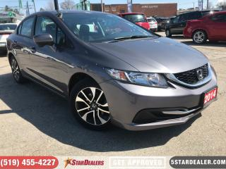 Used 2014 Honda Civic EX   ROOF   CAM   HEATED SEATS for sale in London, ON