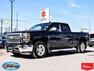 Used 2014 Chevrolet Silverado 1500 LT Extended Cab 4x4 for sale in Barrie, ON