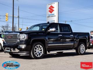 Used 2016 GMC Sierra 1500 Denali ~Nav ~Backup Cam ~Heated/Cooled Leather for sale in Barrie, ON