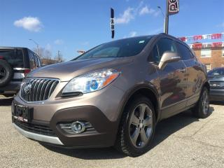 Used 2014 Buick Encore *BACK-UP CAM*BLUETOOTH*SIRIUS XM*REM STRT* for sale in Mississauga, ON