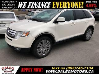 Used 2008 Ford Edge LIMITED | AWD | LEATHER | 114KM! | PANO ROOF for sale in Hamilton, ON