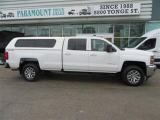 Used 2016 Chevrolet Silverado 3500HD Crew Cab 4x4 gas long box for sale in Richmond Hill, ON
