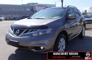 Used 2012 Nissan Murano SV AWD|DUAL ROOF|BACKUP CAMERA|HTD SEATS for sale in Scarborough, ON