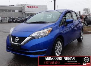 Used 2017 Nissan Versa Note 1.6 SV |BACK UP CAMERA|HEATED SEATS|ALLOYS|BLUETOO for sale in Scarborough, ON