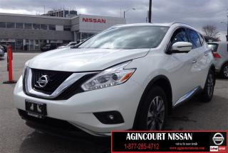 Used 2017 Nissan Murano SL |NAVIGATION|LEATHER|360 CAM|PANO ROOF for sale in Scarborough, ON