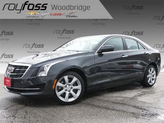 Used 2015 Cadillac ATS 2.0L Turbo BACKUP CAM, LEATHER, SUNROOF for sale in Woodbridge, ON