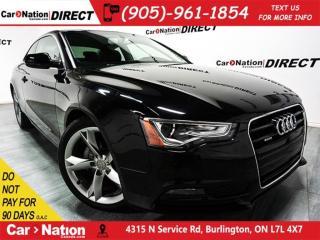 Used 2014 Audi A5 2.0 Komfort quattro (Tiptronic)| SUNROOF| for sale in Burlington, ON