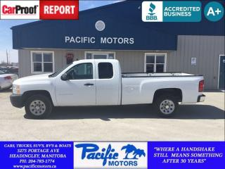 Used 2012 Chevrolet Silverado 1500 Work Truck for sale in Headingley, MB
