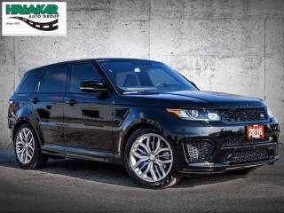 Used 2016 Land Rover Range Rover Sport V8 Supercharged  SVR for sale in North York, ON