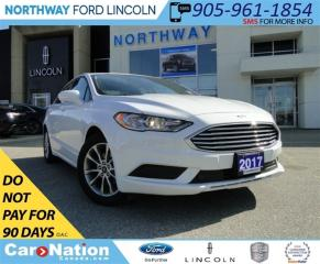 Used 2017 Ford Fusion SE | LOW KM | REAR CAMERA | HEATED SEATS | for sale in Brantford, ON