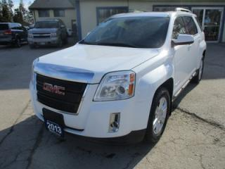 Used 2013 GMC Terrain LOADED SLT-1 MODEL 5 PASSENGER 2.4L - ECO-TEC.. AWD.. LEATHER.. HEATED SEATS.. PIONEER AUDIO.. POWER SUNROOF.. BACK-UP CAMERA.. for sale in Bradford, ON