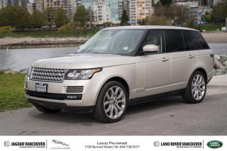 Used 2013 Land Rover Range Rover Supercharged (SC) Low KM! Certified! for sale in Vancouver, BC
