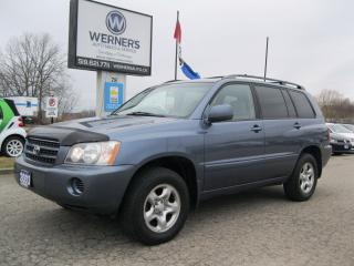 Used 2003 Toyota Highlander V6 | AWD for sale in Cambridge, ON