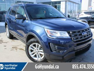 Used 2017 Ford Explorer AWD/BACKUPCAM/BLUETOOTH/LOWKM for sale in Edmonton, AB