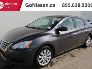 Used 2013 Nissan Sentra S AUTOMATIC, POWER WINDOWS + LOCKS for sale in Edmonton, AB