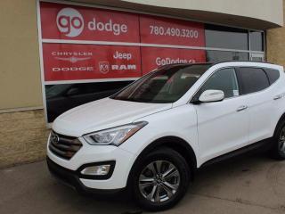 Used 2015 Hyundai Santa Fe Sport Sunroof / Back Up Camera / Heated Front Seats for sale in Edmonton, AB