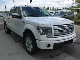 Used 2014 Ford F-150 LIMITED, NAVI, BLUE LEATHER, ACCIDENT FREE for sale in Edmonton, AB